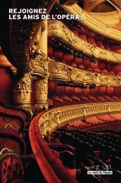 rejoignez les amis de l'opéra ! - Association pour le rayonnement de ...