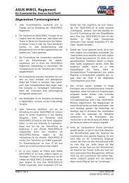 ASUS.WWCL Reglement