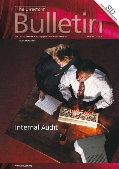 Internal Audit - Singapore Institute of Directors