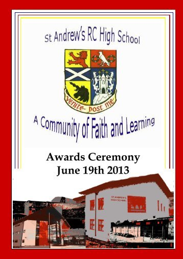 Award Ceremony Booklet 2013 - Home Page
