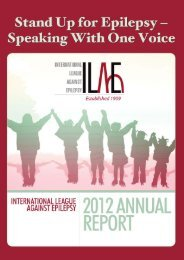 View 2012 Annual Report - International League Against Epilepsy