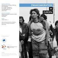 Programm [PDF] - Stiftung Flucht, Vertreibung, Versöhnung