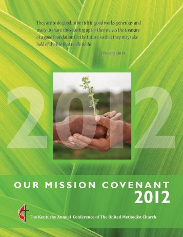 2012 Our Mission Covenant Brochure - The Kentucky Annual ...