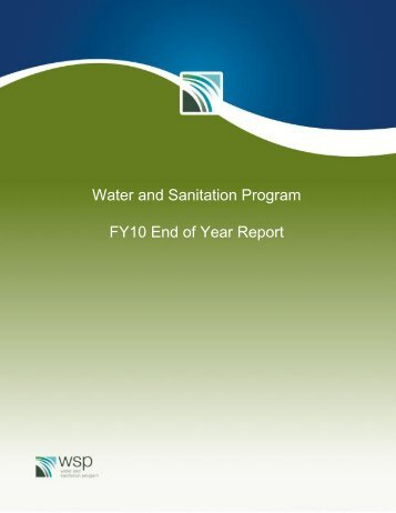 WSP End Year Report FY2010