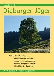 Dieburger Jägers 01/2008 - Jägerschaft der Dieburger Jäger eV
