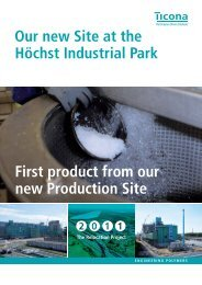 First product from our new Production Site Our new Site at the ...