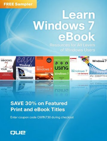 Download our free Windows 7 eBook - Pearson