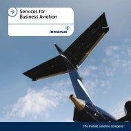 Services for Business Aviation - SatellitePhoneStore.com