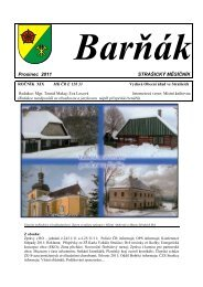 Barňák- prosinec 2012 - obec Strašice