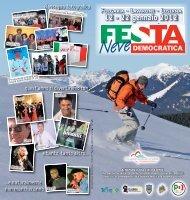 Volantino Festa Neve 2012.indd - Partito Democratico del Trentino