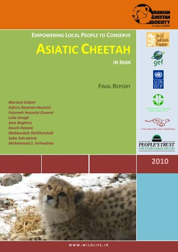 final report - People's Trust for Endangered Species