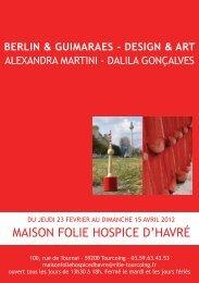 cahier de visite Berlin Guimaraes.indd - Tourcoing