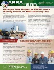 September 2011 - Savannah River Remediation LLC