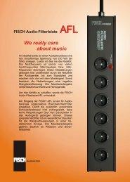 Download hier - FISCH Audiotechnik Berlin