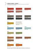 Farbkarte für Pigmente, Flüssigfarben, Granulate - fabrino - Seite 6