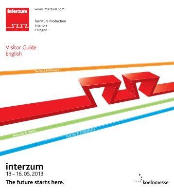 Visitor Guide 2013 - Interzum