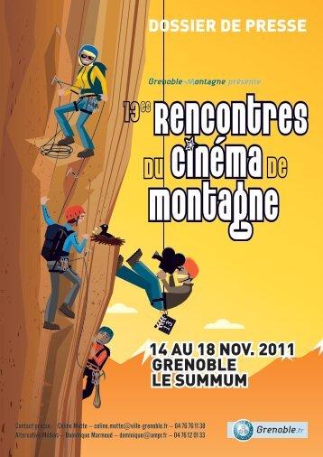Consulter le dossier de presse - Grenoble