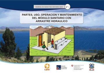 partes, uso, operacion y mantenimiento del módulo sanitario con ...