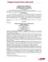 Codigo Procesal Civil y Mercantil - Lexadin