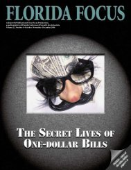 A Quarterly Publication of Clear Focus Productions - Media - Florida ...