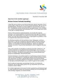 Her kan du lese hele brevet fra Industriansatte i ... - Fellesforbundet