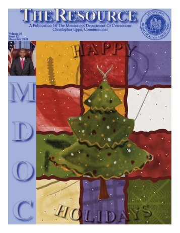 December 2008 Newsletter - Mississippi Department of Corrections