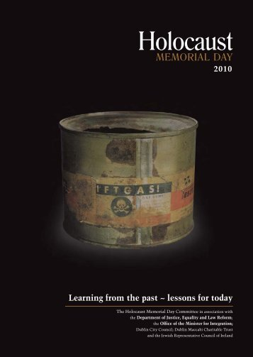 Learning from the past ~ lessons for today - Holocaust Education ...