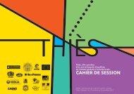 CAHIER DE SESSION - Les Ateliers