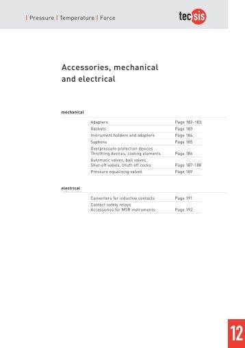 Accessories - Delta Strumenti S.r.l.