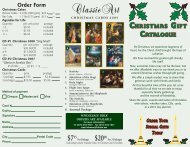 Christmas catalogue - The Interim