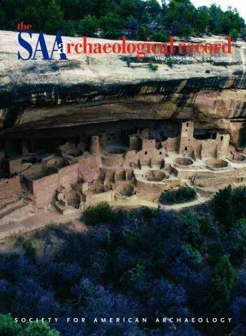 The Public Meaning of Archaeological Heritage - Society for ...