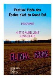 Télécharger le programme - (ENSA) Dijon