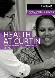 Volume 3 [.pdf] - Health Sciences - Curtin University
