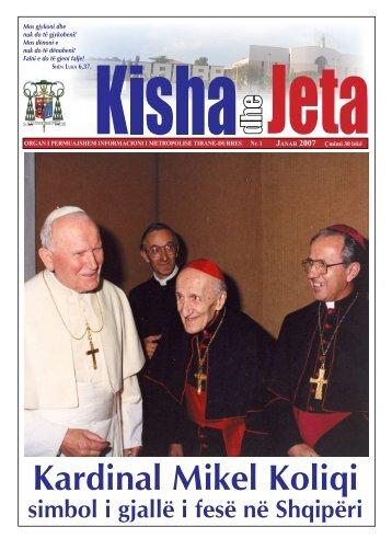 Kardinal Mikel Koliqi - kishadhejeta.com