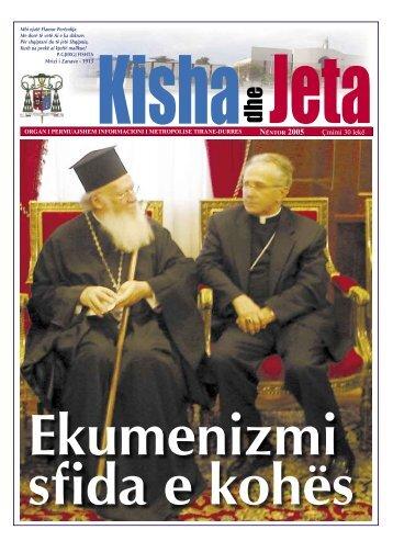 NËNTOR 2005 Çmimi 30 lekë - kishadhejeta.com