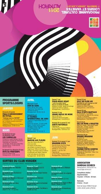 Manif culturelle 1er semestre 2011.pdf - Altkirch