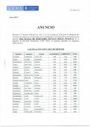 ANUNCIO - Ayuntamiento de Leganés
