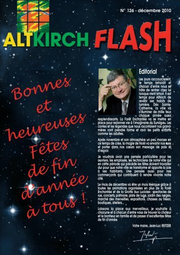 A ltkirch Flash n° 126 - Site officiel de la Mairie altkirch