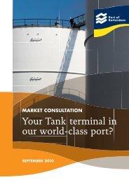 Brochure 'Tank terminal Europoort West' - Port of Rotterdam
