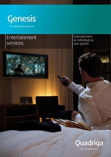 Entertainment services - Quadriga