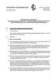 Landesplanerische Beurteilung - Planungsverband Region ...