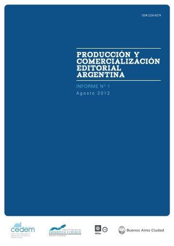 producción y comercialización editorial argentina - Buenos Aires ...