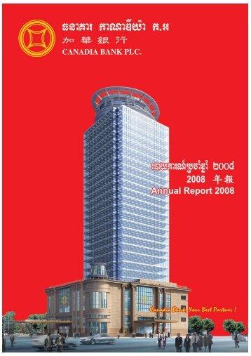 Annual report 2008-OK-B-up.qxp - Canadia Bank Plc.