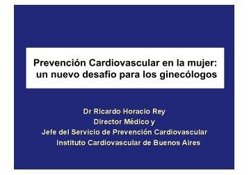 Prevención Cardiovascular en la mujer: un nuevo desafío ... - IGBA