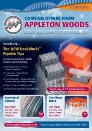 Mailer artwork - Appleton Woods Ltd
