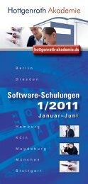 Software-Schulungen - Hottgenroth Software