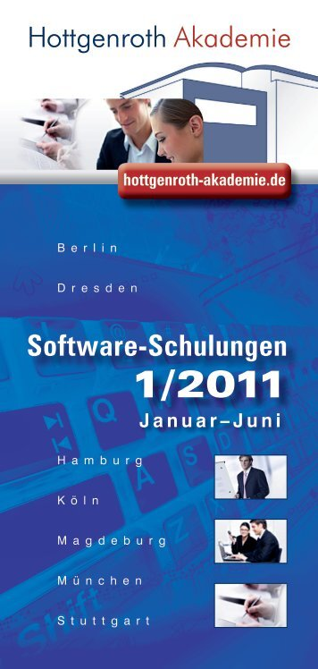 Software-Schulungen - Hottgenroth Software