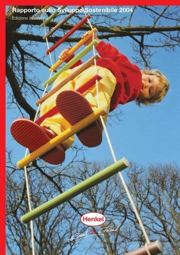Rapporto sullo Sviluppo Sostenibile 2004 - Henkel