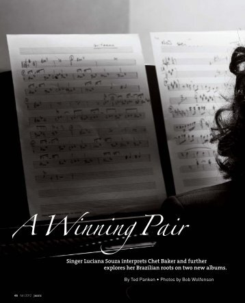 Jazziz Magazine - Luciana Souza