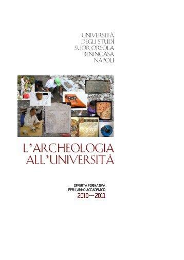 Presentazione dell'offerta formativa dei corsi di laurea - Istituto ...